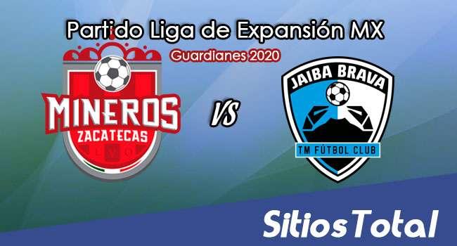 Mineros de Zacatecas vs Tampico Madero en Vivo – Partido de ida – Cuartos de Final – Liga de Expansión MX – Guardianes 2020 – Miércoles 2 de Diciembre del 2020