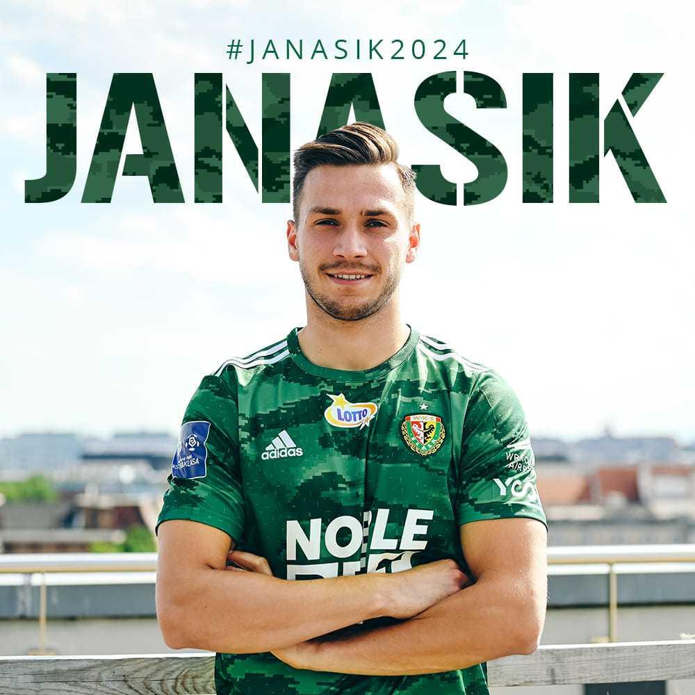 Patryk Janasik zawodnikiem Śląska Wrocław