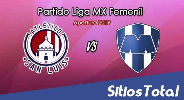 Ver Atlético San Luis vs Monterrey en Vivo – Liga MX Femenil – Apertura 2019 – Jueves 19 de Septiembre del 2019