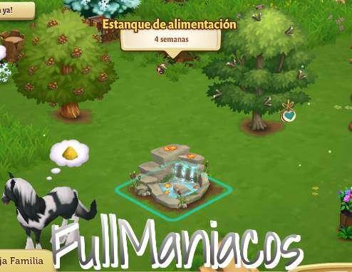 """Farmville 2 Nueva Construccion """"Estanque de Alimentacion"""""""