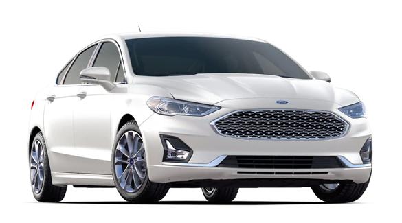 Ford Fusion Plug-In Hybrid Titanium