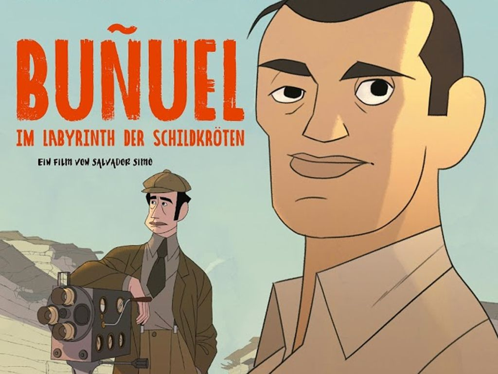 Ο Μπουνιουέλ στο λαβύρινθο με τις χελώνες (Buñuel en el laberinto de las tortugas) Poster Πόστερ Wallpaper