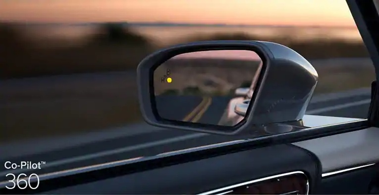 Lincoln Blind Spot Monitoring