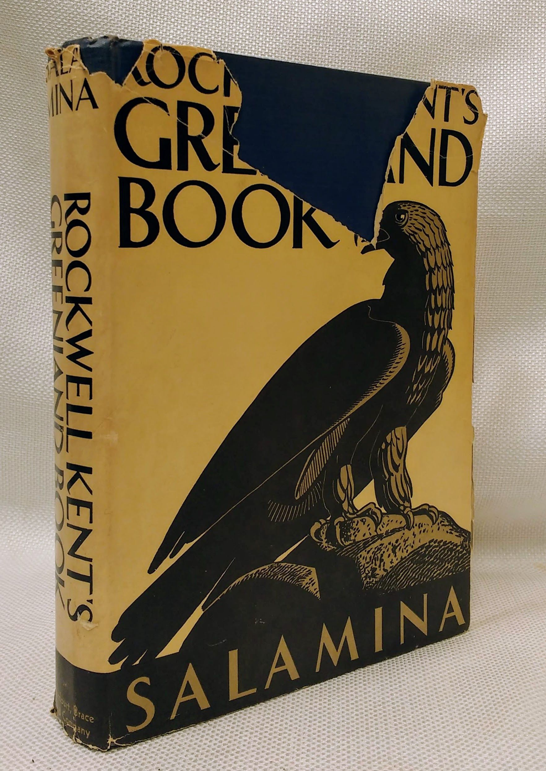 Rockwell Kent's Greenland Book Salamina, Kent, Rockwell (1882-1971). Illustrated By the Author