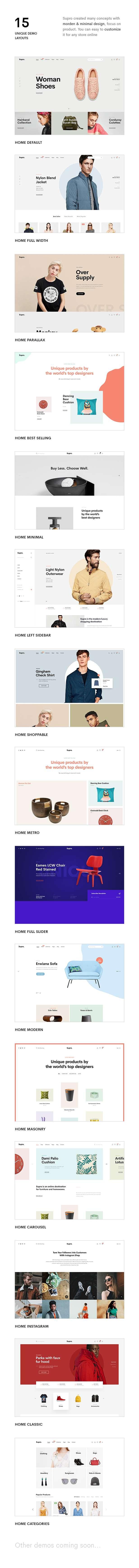 Supro | Minimalist eCommerce PSD Template - 10