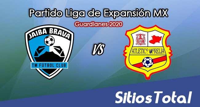 Tampico Madero vs Atlético Morelia en Vivo – Liga de Expansión MX – Guardianes 2020 – Jueves 17 de Septiembre del 2020