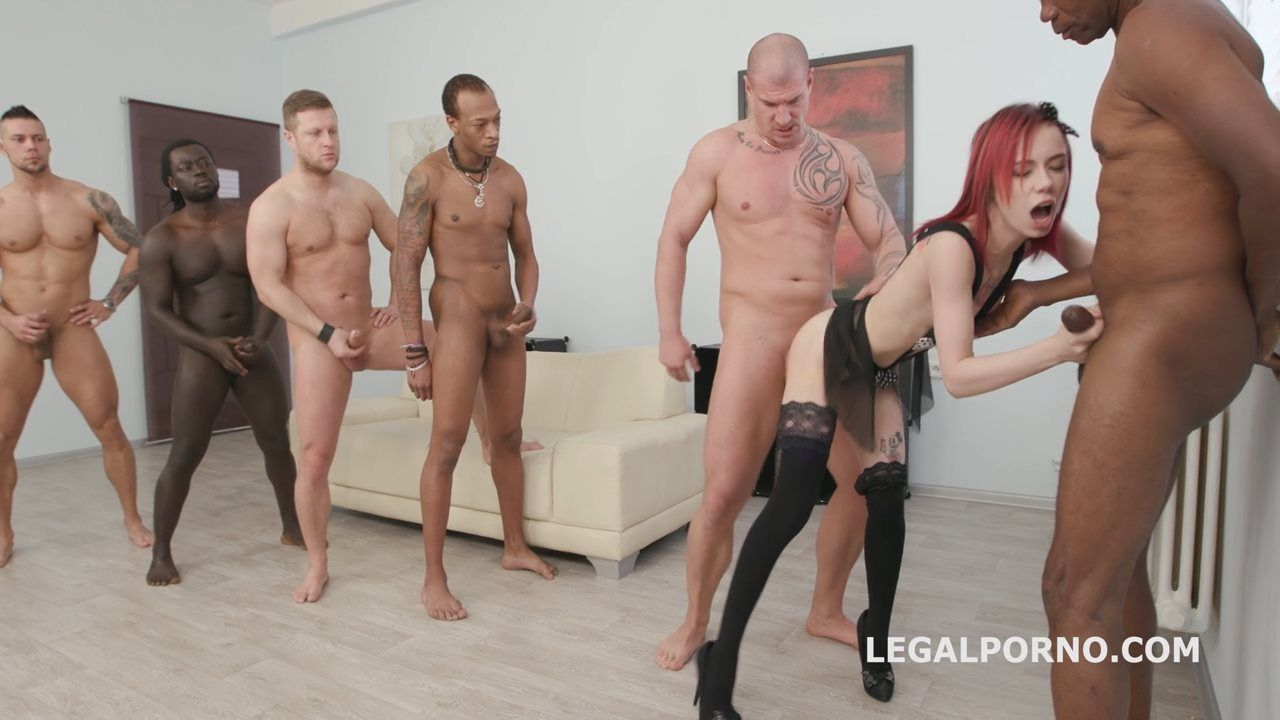 6on1 Piss Gangbang with Kira Roller Balls Deep Anal DAP Gapes Pee Drink Crempie To Glass Swallow GIO562 / 06.04.2018  |
