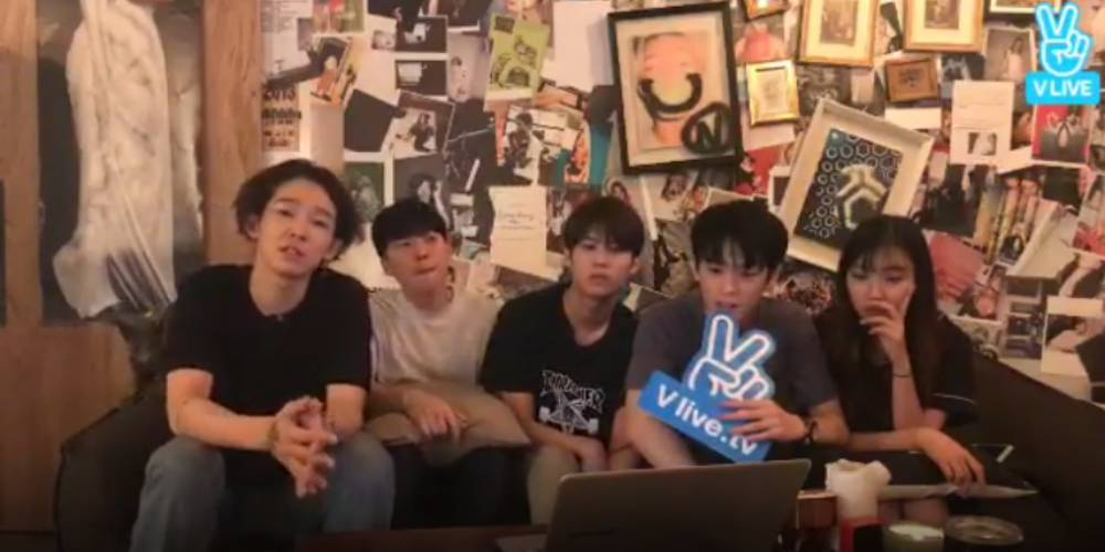 Nam Tae Hyun holds his first live stream with his band South Club