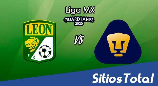 León vs Pumas en Vivo – Liga MX – Guardianes 2020 – Lunes 21 de Septiembre del 2020