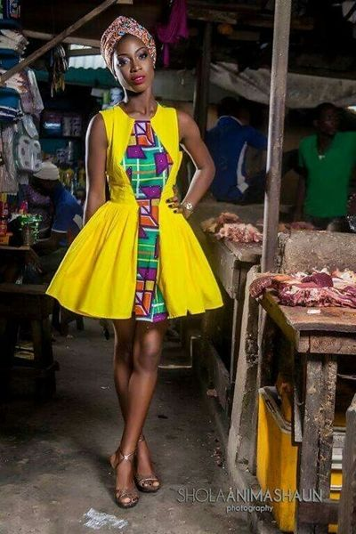 beautiful African dresses styles,  Ankara Fashion, Dress Designs