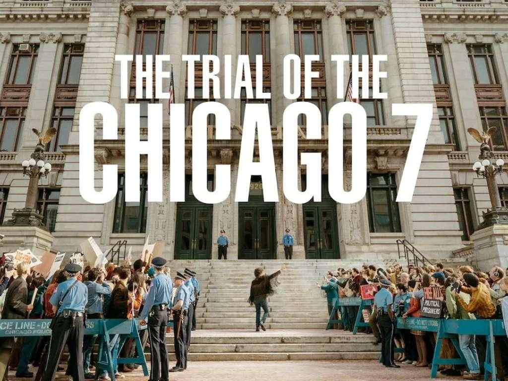 Η Δίκη των 7 του Σικάγου (The Trial of the Chicago 7) Quad Poster