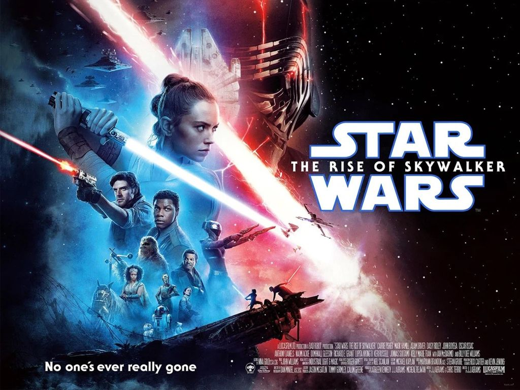 Star Wars: Skywalker Η Άνοδος (Star Wars: The Rise of Skywalker) Quad Poster