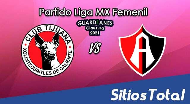 Xolos Tijuana vs Atlas en Vivo – Transmisión por TV, Fecha, Horario, MxM, Resultado – J3 de Guardianes 2021 de la Liga MX Femenil