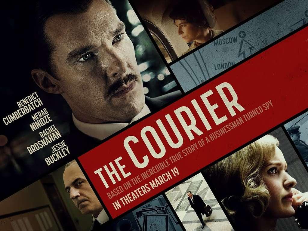 Ο Κατάσκοπος του Ψυχρού Πολέμου (The Courier) Quad Poster