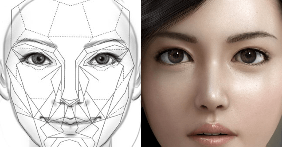 this scientifically generated perfect face looks like a korean
