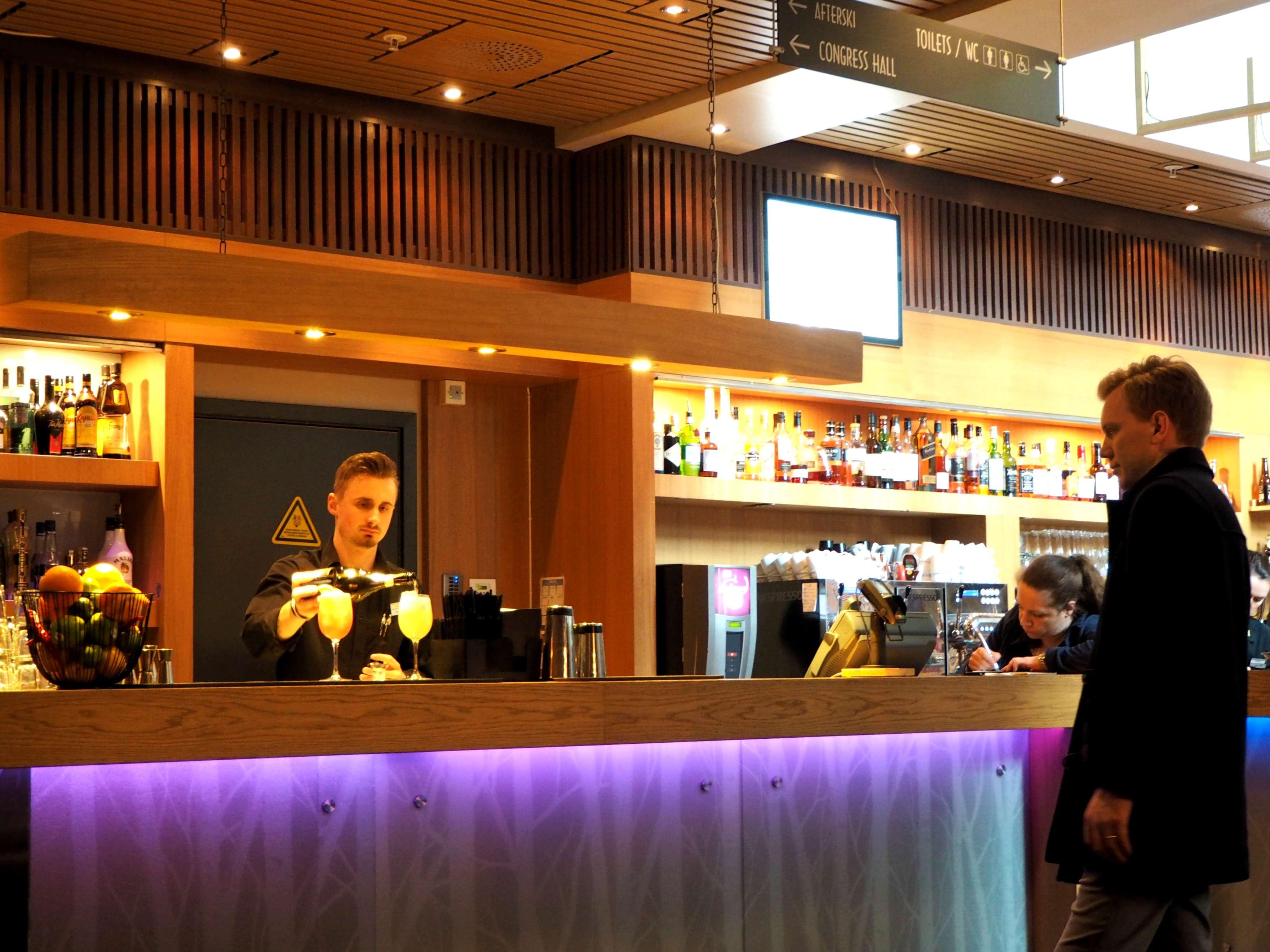 The bar at Radisson Blu Trysil Resort