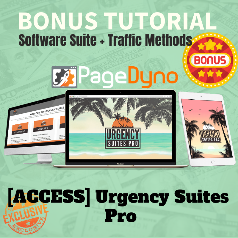 Page Dyno Review - Bonus 3 - Urgency Suite Pro