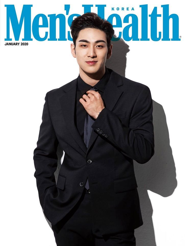 NU'EST Baekho Men's Health Korea K-pop