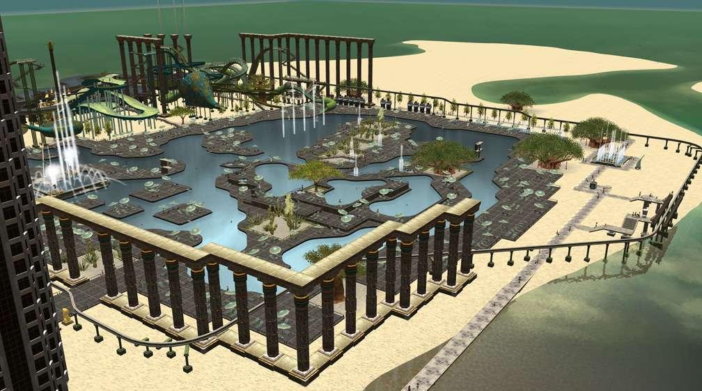 Image 03 - Parks, Scenarios, & Sandboxes - Scenario: Water World Resort