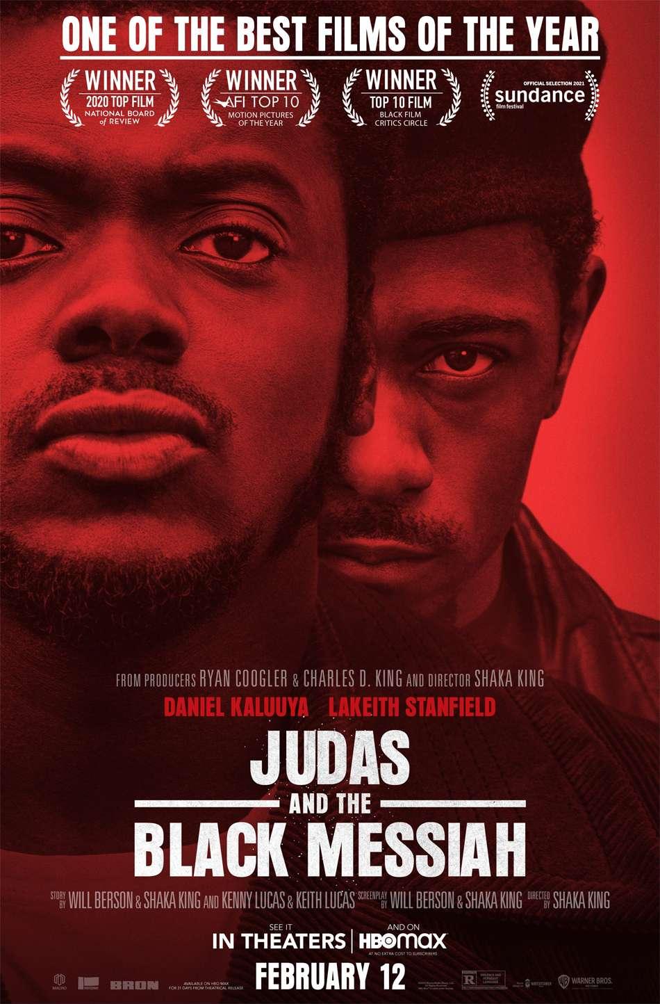 Judas and the Black Messiah Poster Πόστερ