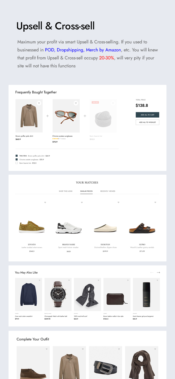 Utero - Minimalist eCommerce PSD Template - 8
