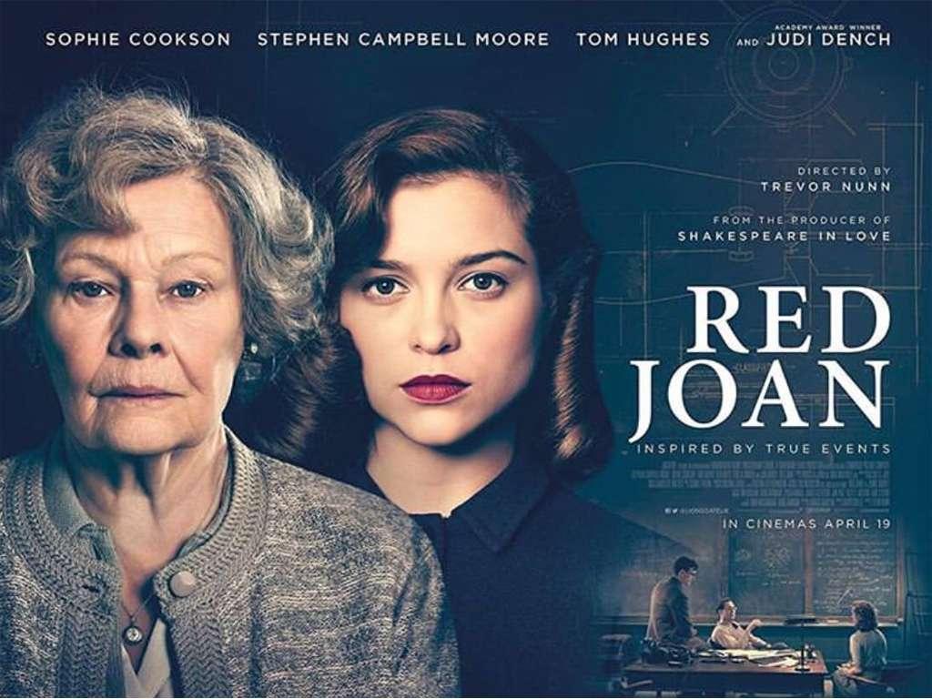 Η Κόκκινη Τζόαν (Red Joan) Quad Poster Πόστερ