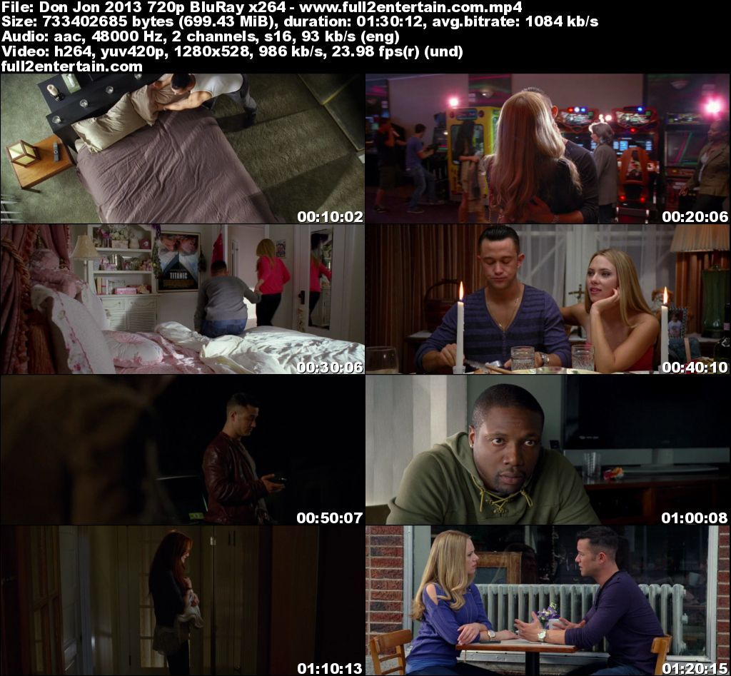 Don Jon 2013 Full Movie Free Download HD 700mb