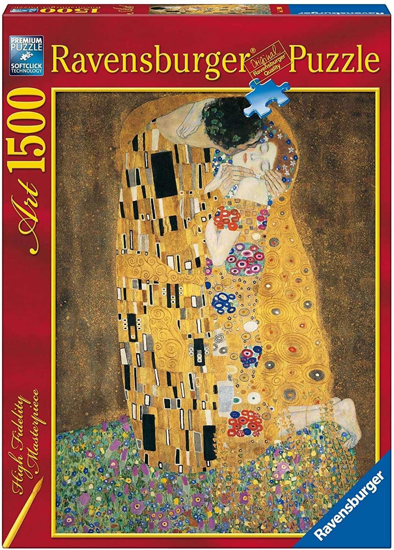 Puzzle Il Bacio Klimt 1500 Pezzi Ravensburger 16290