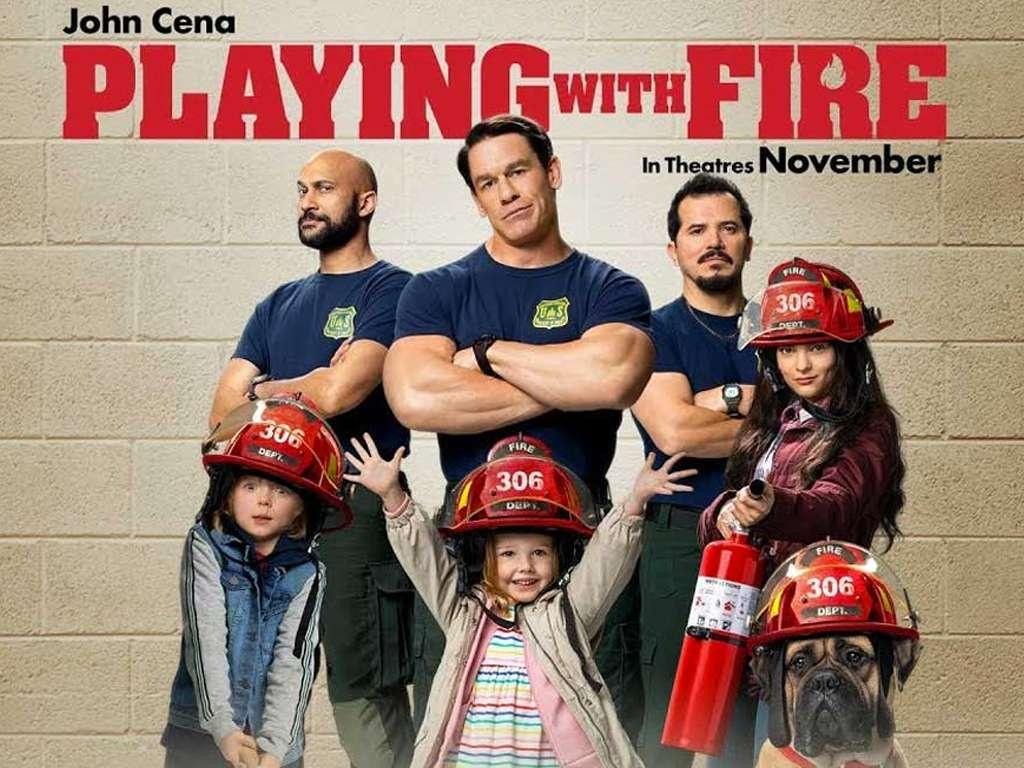 Παίζοντας με τη Φωτιά (Playing with Fire) Quad Poster