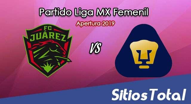 Ver FC Juarez vs Pumas en Vivo – Liga MX Femenil – Apertura 2019 – Jueves 19 de Septiembre del 2019