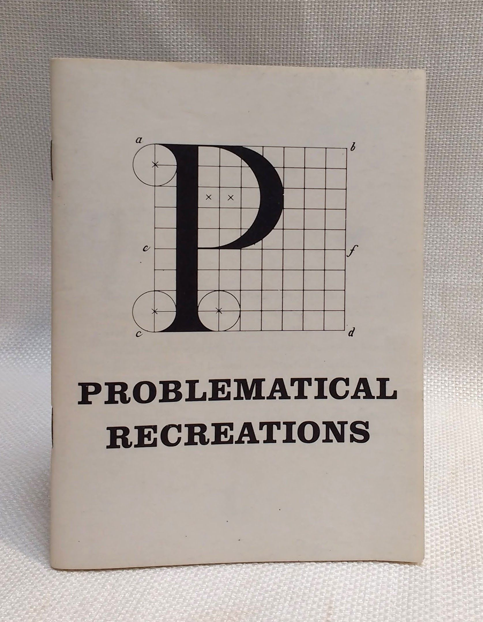 Image for Problematical Recreations