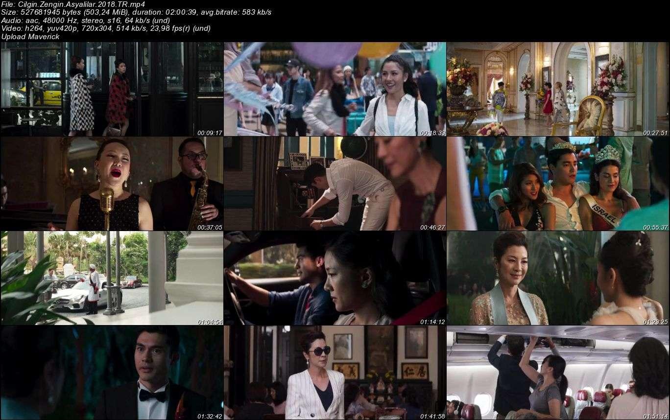 Çılgın Zengin Asyalılar - 2018 Türkçe Dublaj Mp4 indir