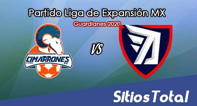 Cimarrones de Sonora vs Tepatitlán FC en Vivo – Liga de Expansión MX – Guardianes 2020 – Martes 27 de Octubre del 2020