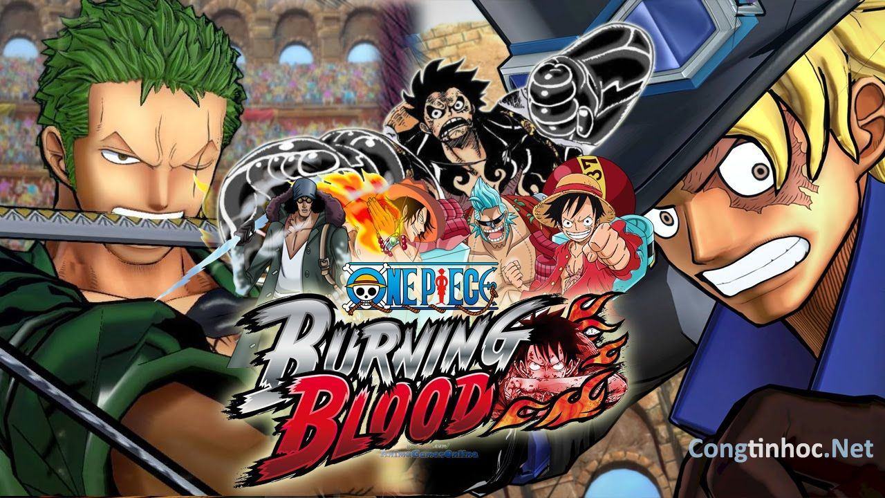 Download Game One Piece: Burning Blood (Đảo Hải Tặc)