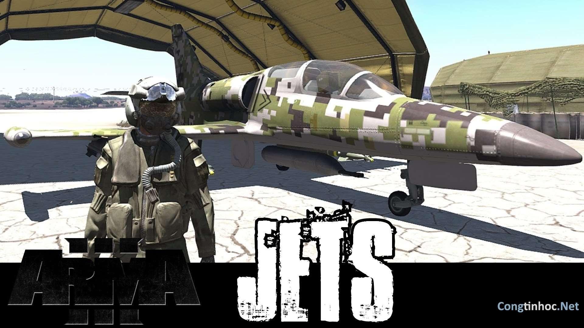 Download Game Arma 3 Jets - Game chiến tranh nhập vai trên PC