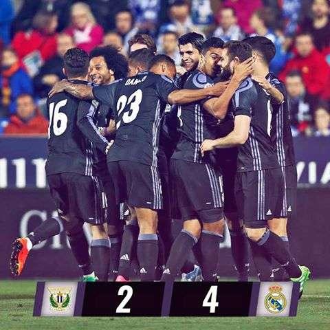 اهداف مباراة ريال مدريد وليجانيس