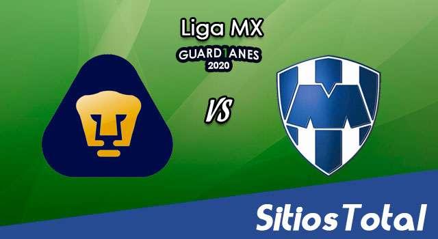Pumas vs Monterrey en Vivo – Liga MX – Guardianes 2020 – Miércoles 12 de Agosto del 2020