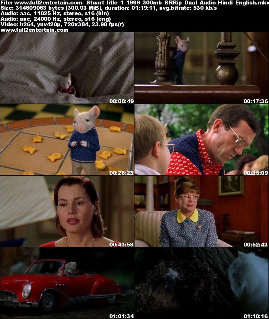 Stuart Little 1 (1999) Full Movie Free Download HD 300mb