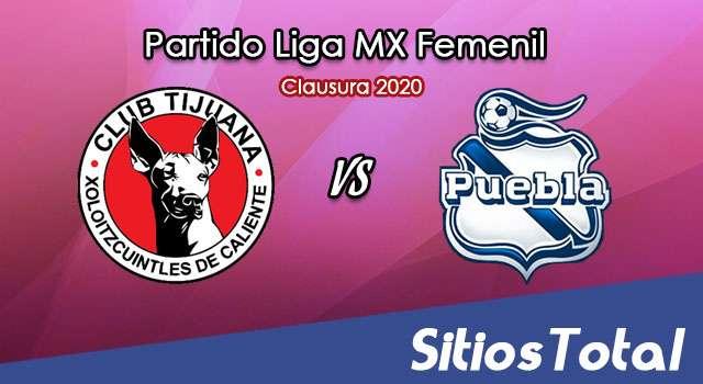 Ver Xolos Tijuana vs Puebla en Vivo – Liga MX Femenil – Clausura 2020 – Lunes 20 de Enero del 2020