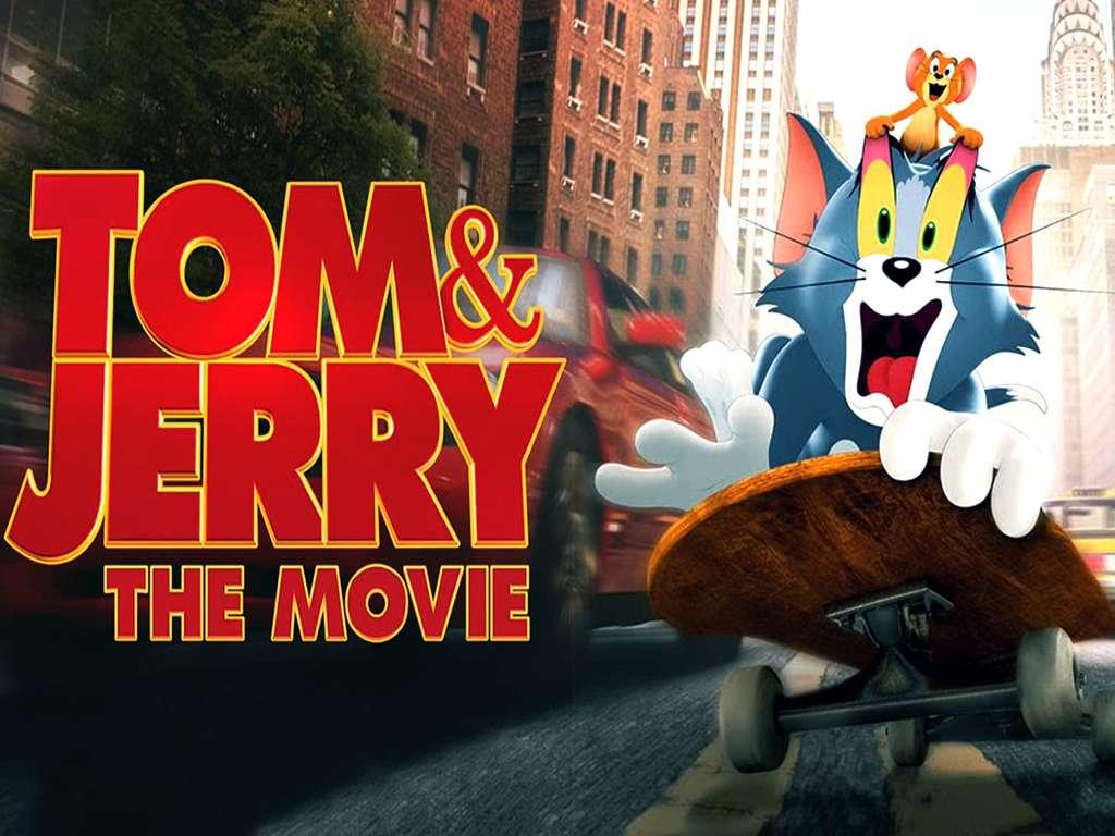 Tom & Jerry Quad Poster