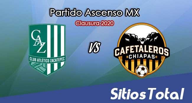 Ver Atlético Zacatepec vs Cafetaleros de Chiapas en Vivo – Ascenso MX en su Torneo de Clausura 2020