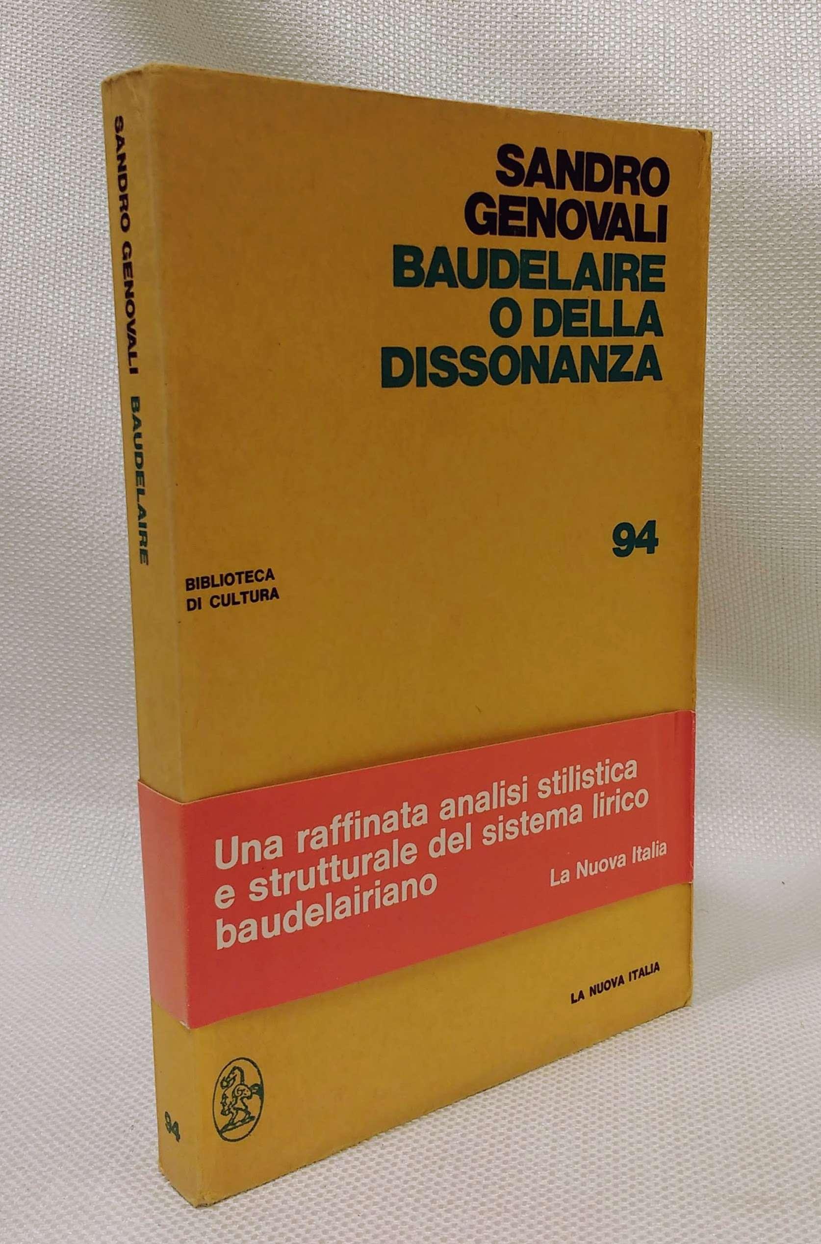 Baudelaire , o della dissonanza, Genovali, Sandro