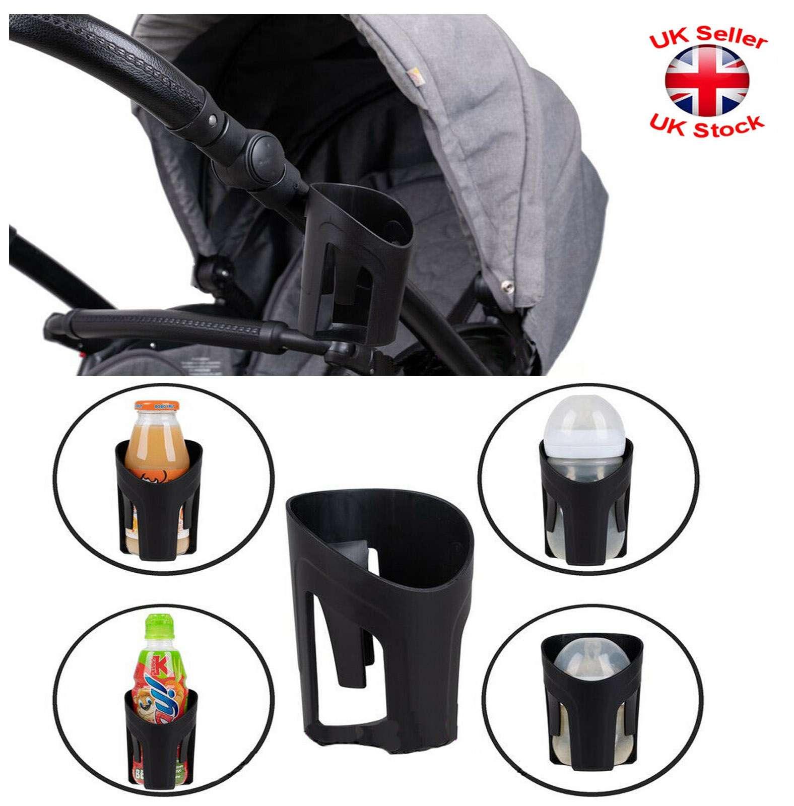 Universal Milk Drink Bottle Coffee Cup Holder for Baby Stroller Pram Bicycle UK!