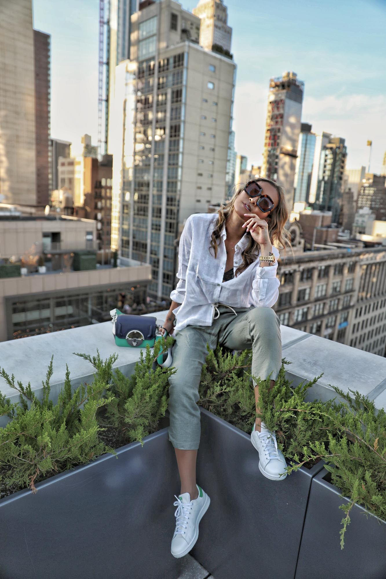 NYC Rooftop Photoshoot
