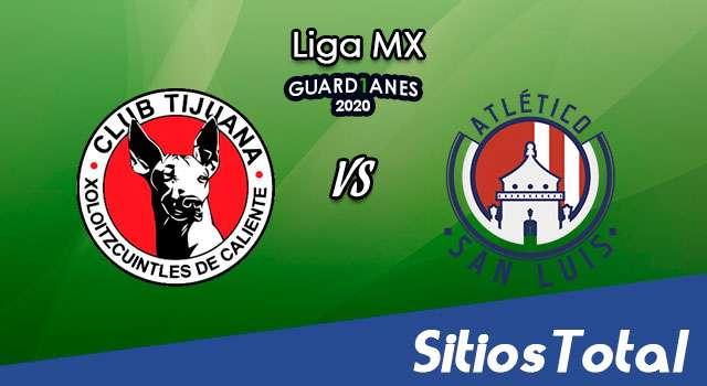 Xolos Tijuana vs Atlético San Luis en Vivo – Liga MX – Guardianes 2020 – Miércoles 12 de Agosto del 2020