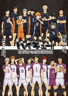 Haikyuu!!: Karasuno Koukou VS Shiratorizawa Gakuen Koukou's Cover Image