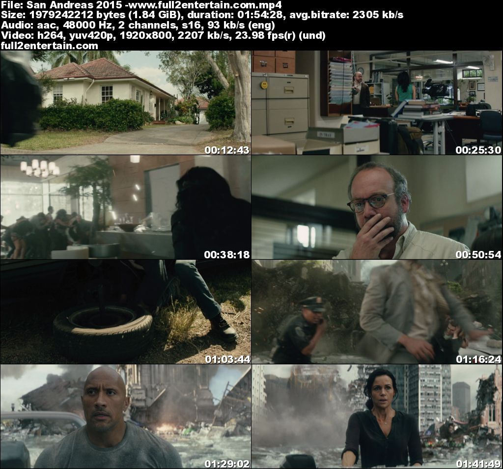 San Andreas 2015 Full Movie Free Download HD