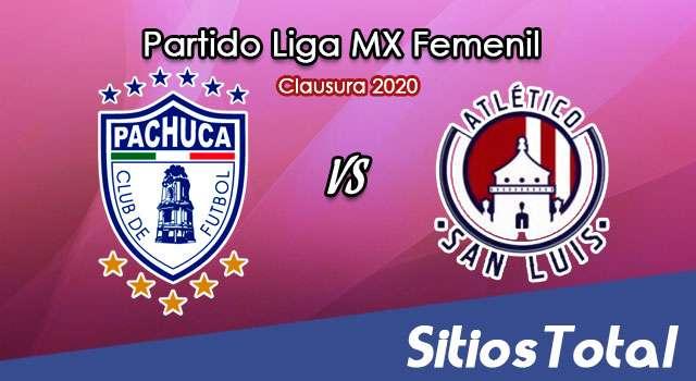 Ver Pachuca vs Atlético San Luis en Vivo – Liga MX Femenil – Clausura 2020 – Lunes 20 de Enero del 2020