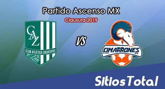 Ver Atlético Zacatepec vs Cimarrones de Sonora en Vivo – Ascenso MX en su Torneo de Apertura 2019