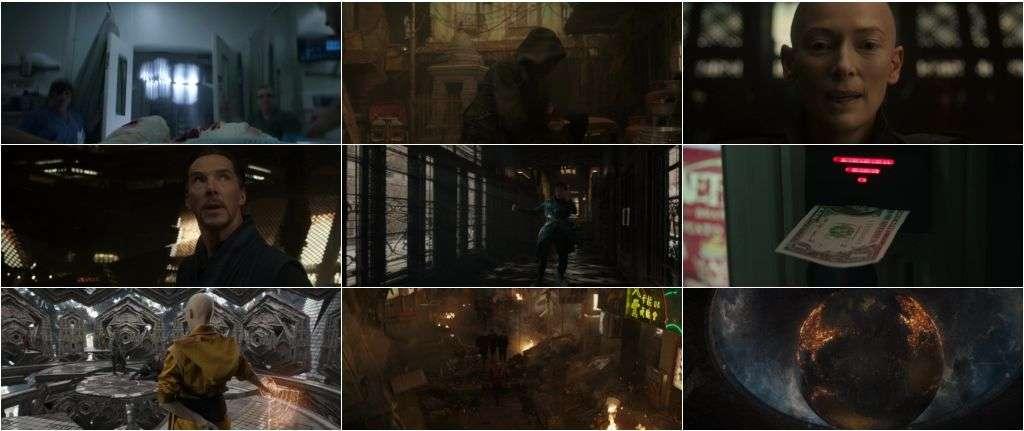 Download Doctor Strange English Free in 1080p Bluray 1.7Gb